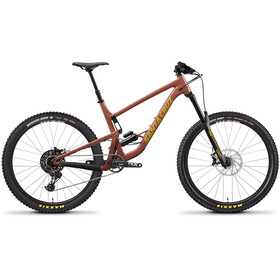 Santa Cruz Bronson 3 AL R-Kit, red tide/yellow